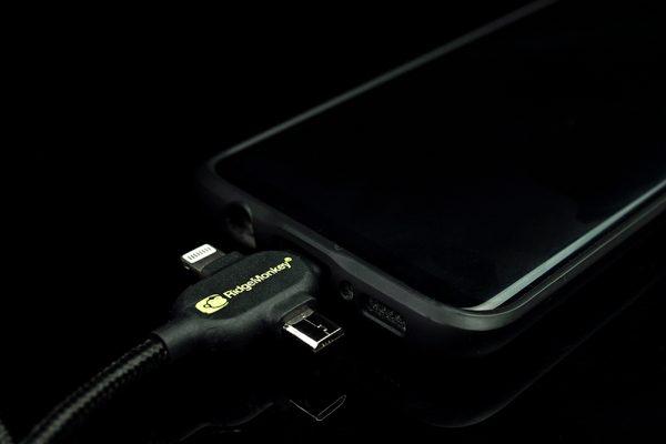 RidgeMonkey Vault USB-A to Multi Out Kabel 2m