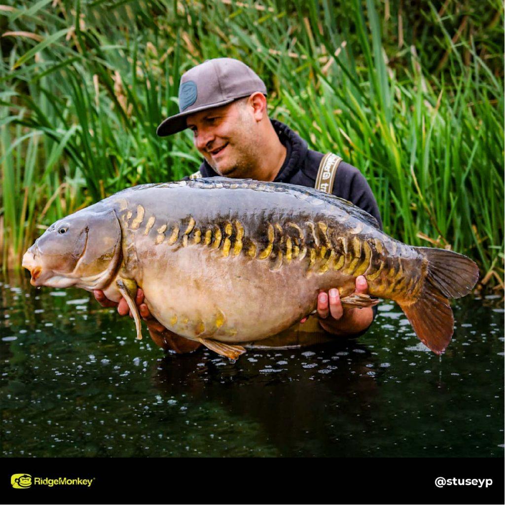 Stuart Pettit big carp