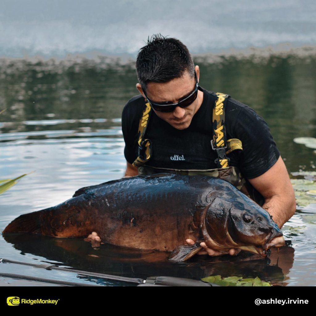 Ashley Irvine big carp