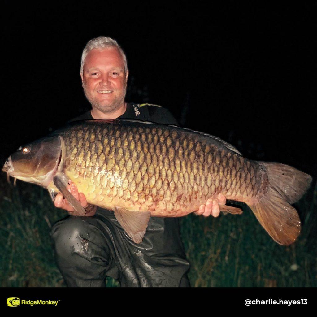 Charlie Hayes big carp