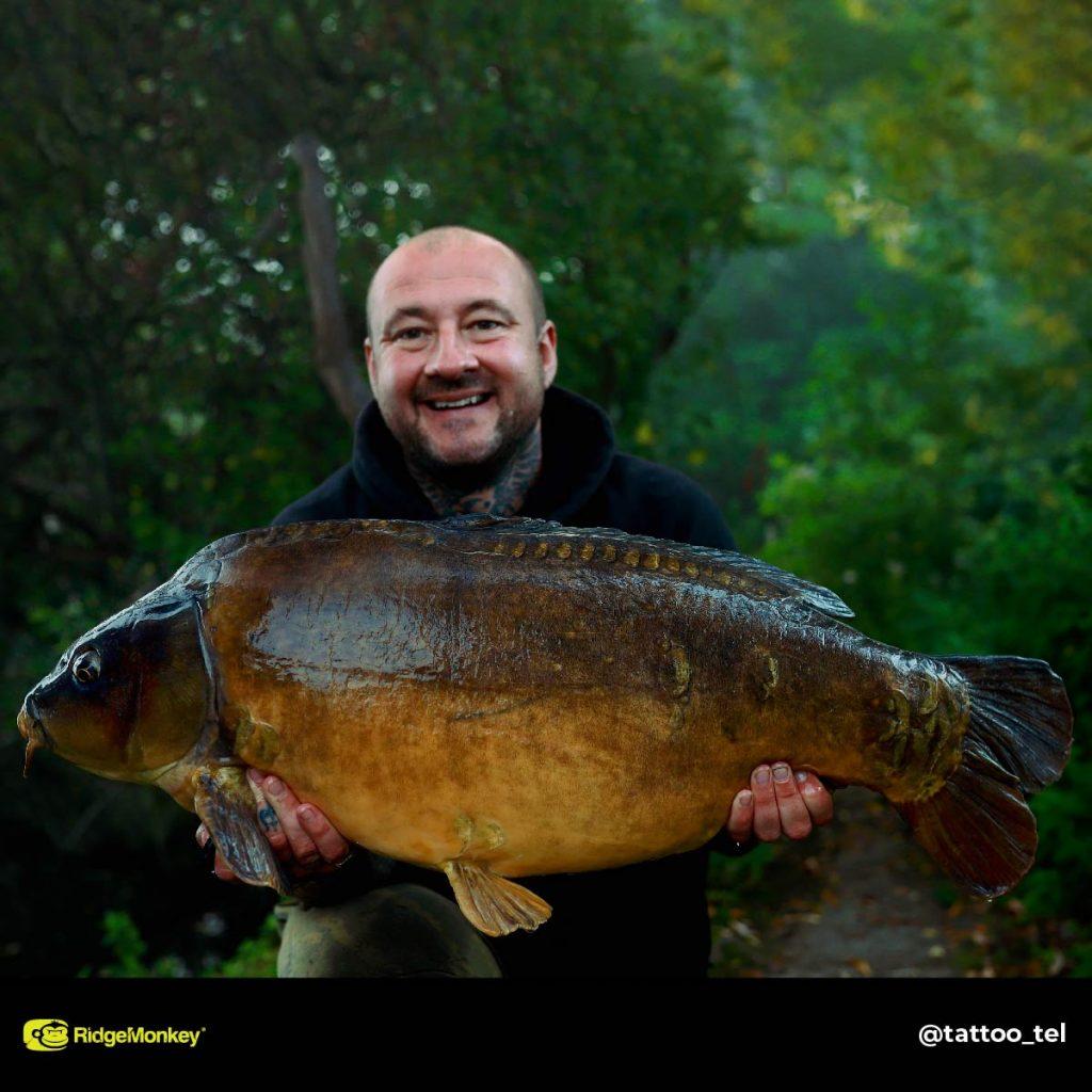 Terry Frank big carp