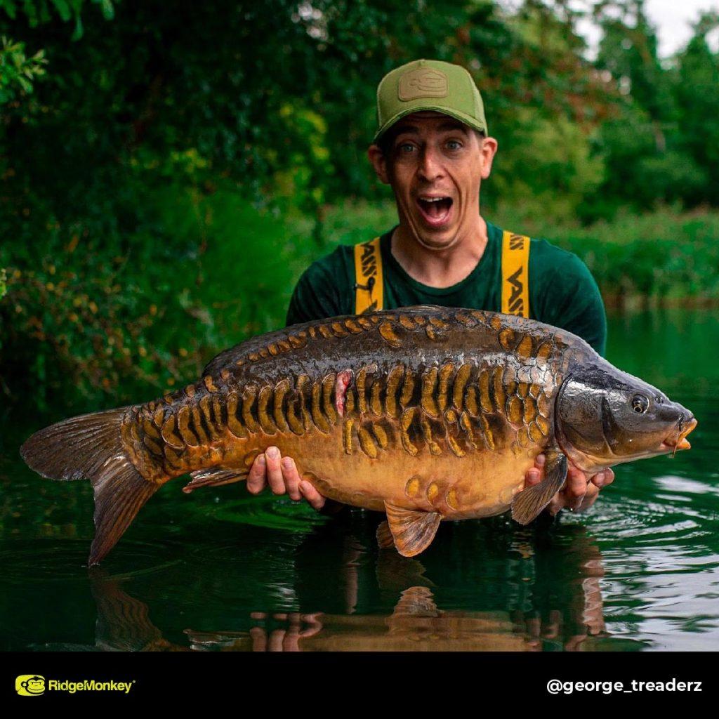 George Treadwell big carp