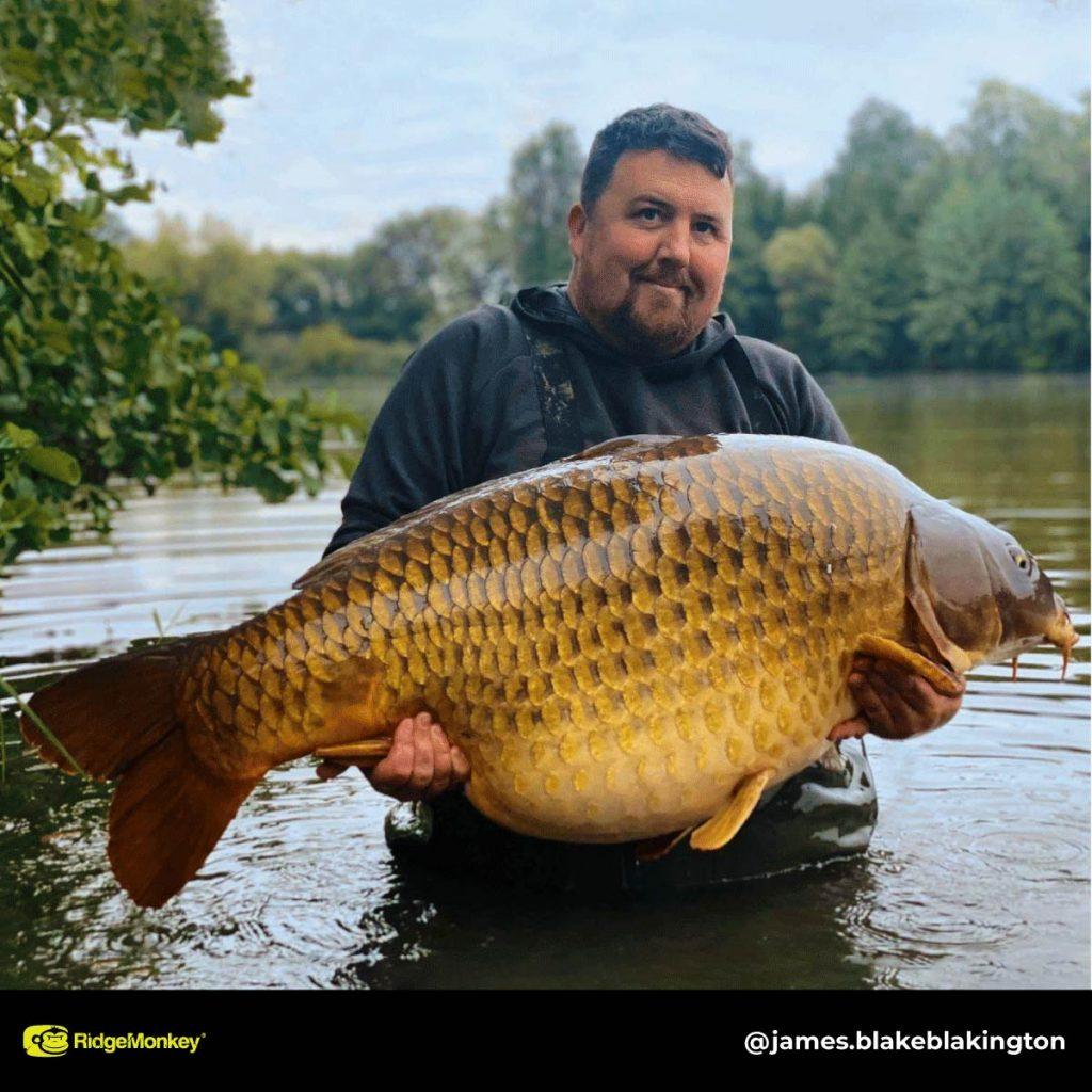 James Blake big carp