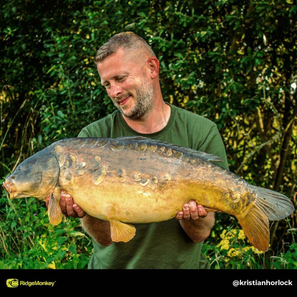 Kristian Horlock big carp