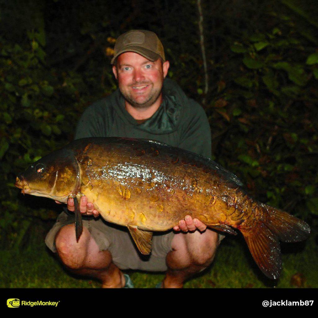 Jack Lamb big carp