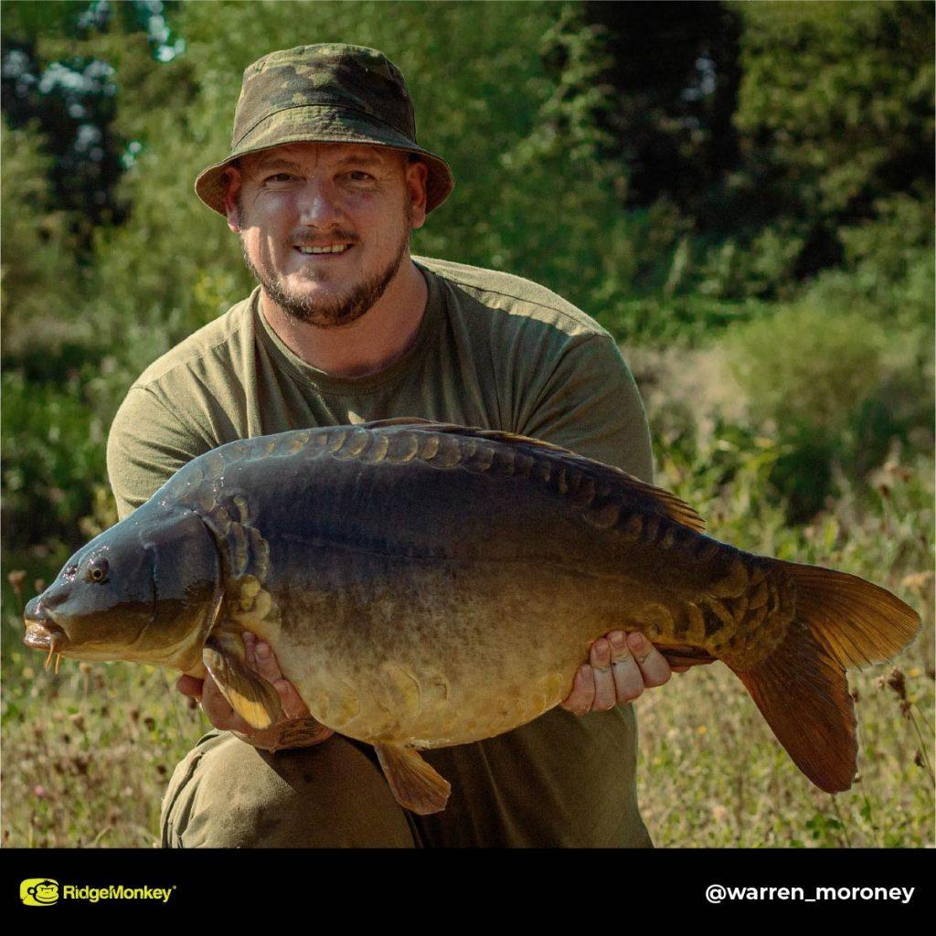 Warren Moroney big carp